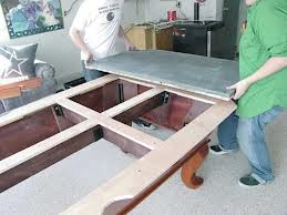 Pool table moves in Duluth Minnesota